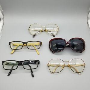 Designer glasses & sunglasses
